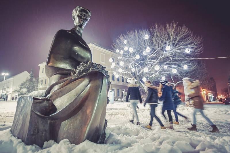 Čarobne fotografije Slavonskog Broda u snijegu kroz objektiv Danijela Solde