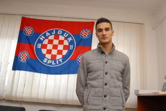 Dominik Perković potpisao za Hajduk na 2,5 godine