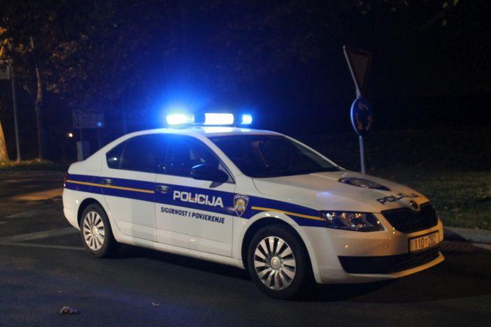 Policijsko priopćenje o sinoćnjem fizičkom obračunu u Slavonskom Brodu