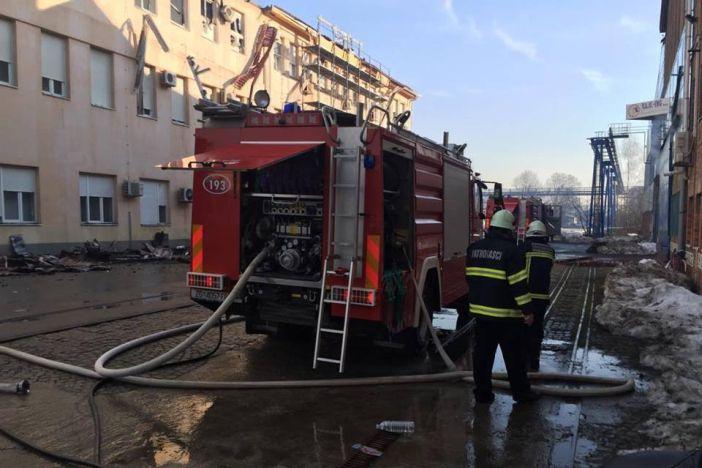 Požar u TEP-u stavljen pod kontrolu, očevid se još ne može obaviti