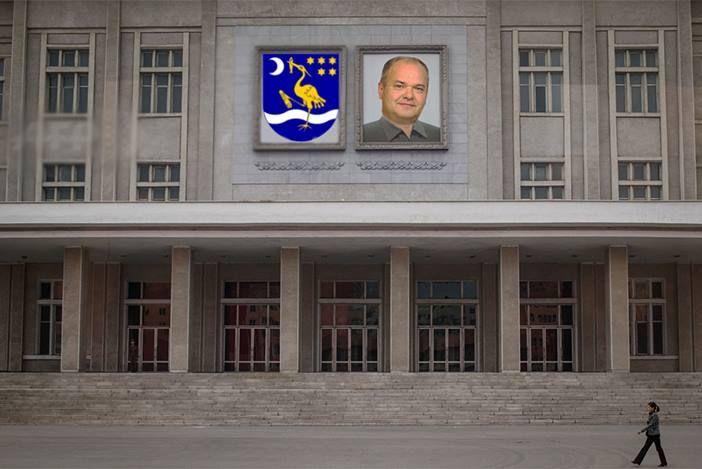 PIJANA ČAPLJA Duspara seli Ured gradonačelnika po uzoru na predsjednicu