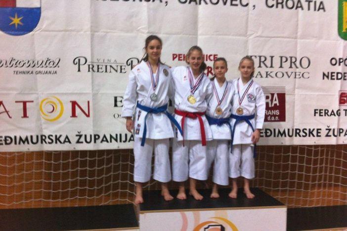 Mihaelu Ećimoviću zlato u katama na 5. Karate Grand Prix-u u Međimurju