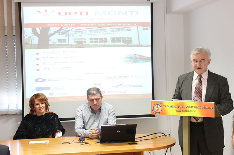 Predstavljen OPTI-MONTI projekt Industrijsko-obrtničke škole Slavonski Brod