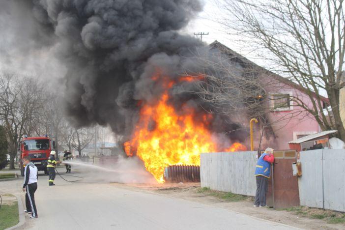 Požar u Naselju 'Andrija Hebrang'