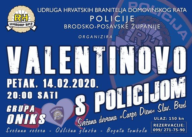 Provedite Valentinovo s policijom
