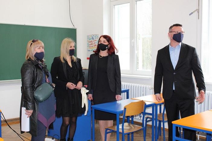 Završena energetska obnova novogradiške Gimnazije: Škola je sa svim ulaganjima doživjela najveću investiciju od kada je izgrađena