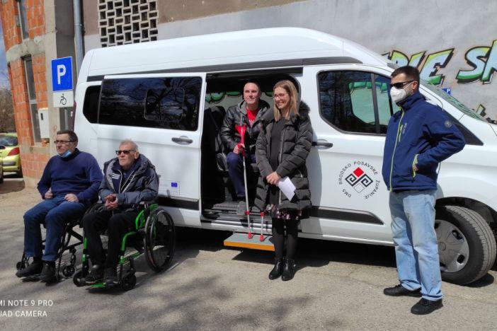 Novo kombi vozilo za članove Društva multiple skleroze Brodsko-posavske županije