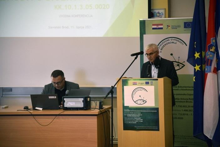 Održana Uvodna konferencija Projekta Izrada projektno-tehničke dokumentacije centra strukovne izvrsnosti u bioekonomiji