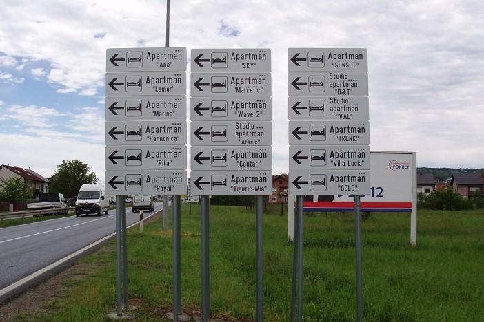 Turistička zajednica postavila novu signalizaciju