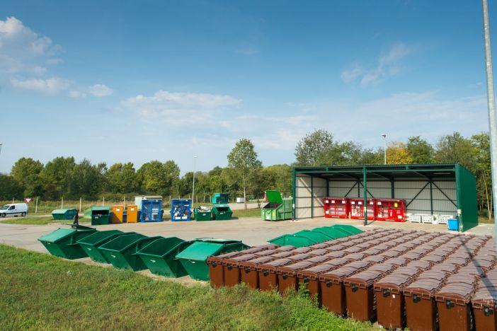 Nove kazete za odlaganje otpada na odlagalištu Vijuš