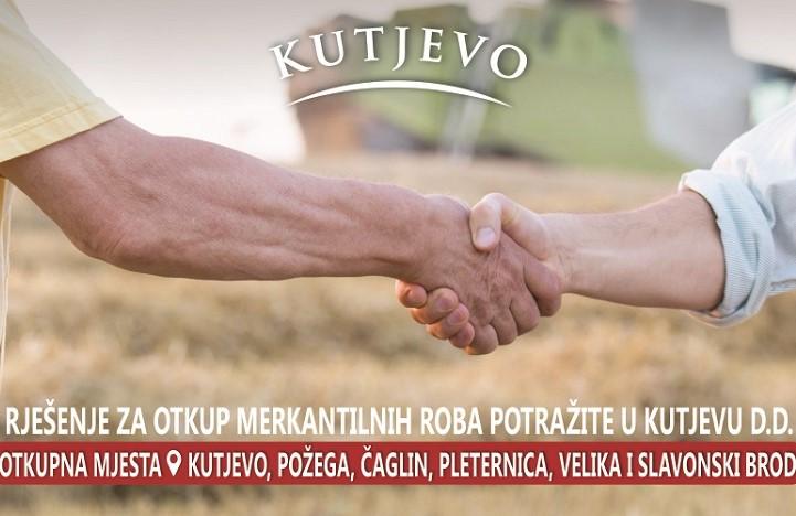 Otkup uljarica i žitarica kod dokazanog i pouzdanog poslovnog partnera - Kutjevo d.d.