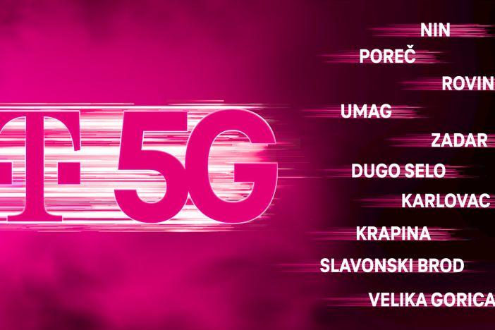 T-com doveo 5G mrežu i naš grad. 5G Trenutno imamo u 34 hrvatska grada