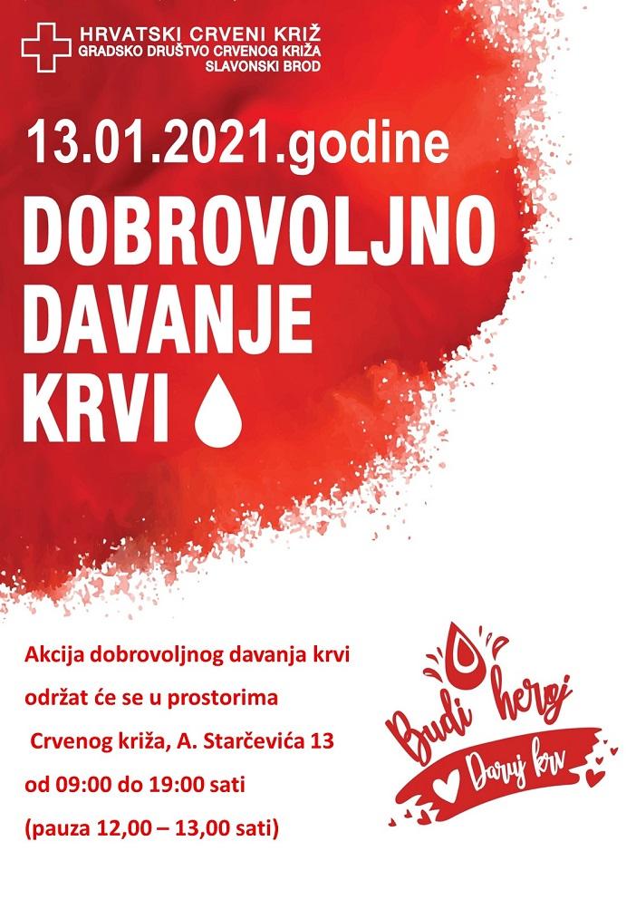 Akcija dobrovoljnog darivanja krvi Slavonski Brod