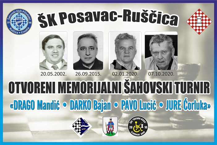 "19. Memorijal"" Drago Mandić-Darko Bajan –Pavo Lucić-Jure Ćorluka"""
