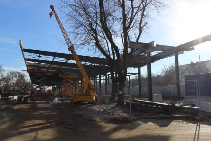Izgradnja novog autobusnog kolodvora – presjek radova
