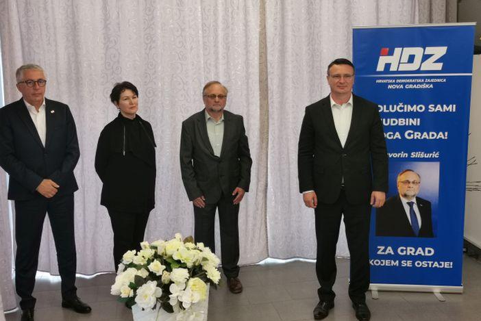 """Kandidat HDZ-a za gradonačelnika Nove Gradiške Davorin Slišurić: """"Grad po mjeri građana"""""""