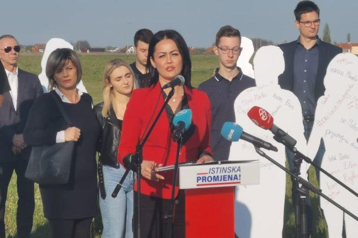 Slavica Lemaić najavila kandidaturu za gradonačelnicu Slavonskog Broda