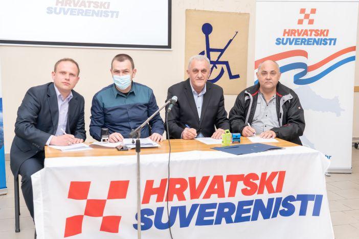 Osnovana županijska podružnica Hrvatskih suverenista