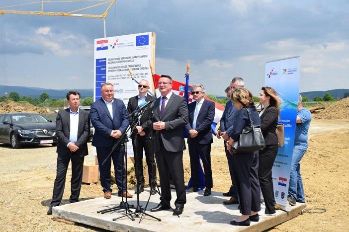 143 milijuna kuna za razvoj vodno komunalne infrastrukture Nove Gradiške