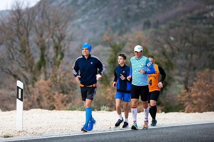 Kristijan Sindik danas trči peti od sedam predviđenih humanitarnih maratona