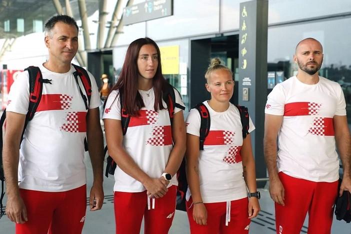 Vanesa Tot i Igor Krajina su jučer otputovali na Olimpijske igre u Japan
