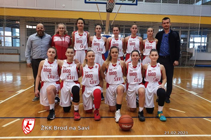 Košarkašica Broda na Savi slavile protiv Koprivnice