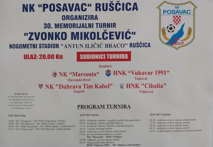 """Bliži se nogometni memorijal """"Zvonko Mikolčević"""""""