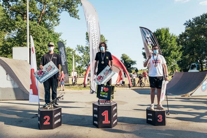 Bruno Vranić iz Slavonskog Broda pobijedio u skate disciplini na zagrebačkom Challenge Touru