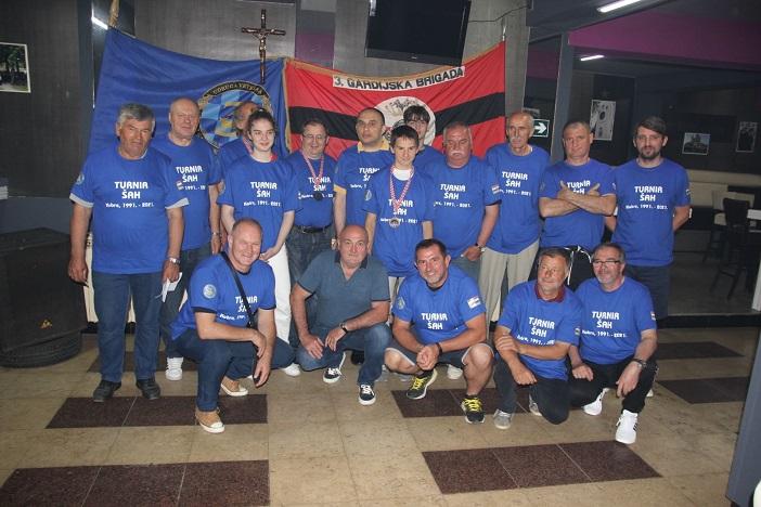 Šahovski turnir povodom 30 godišnjice 3 bojne Kobre 3 Gardijske brigade Veterana Kune 1991.-2021.