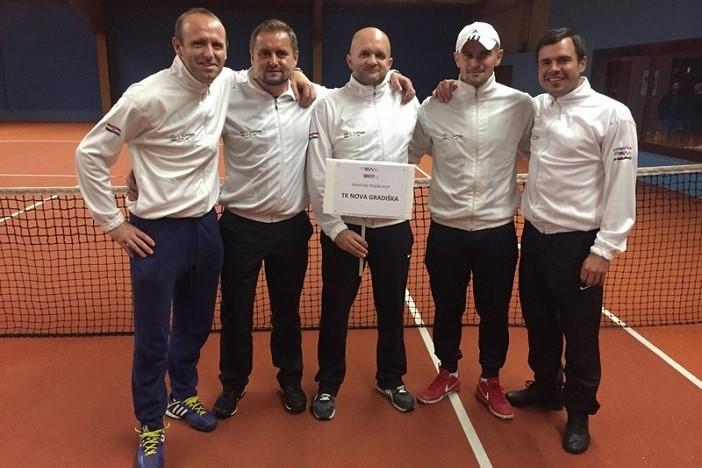 Završena 3. hrvatska teniska liga: Novogradiščani odlični treći