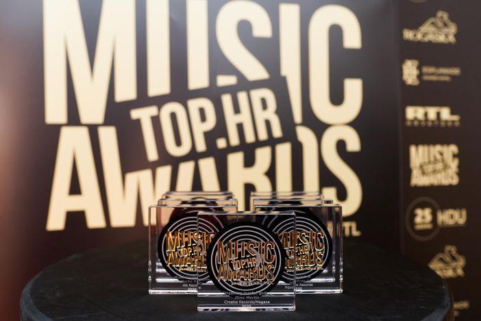 Proglašeni pobjednici Top.HR Music Awards