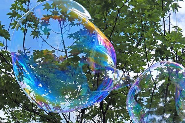 Radionica - gigantski baloni od sapunice