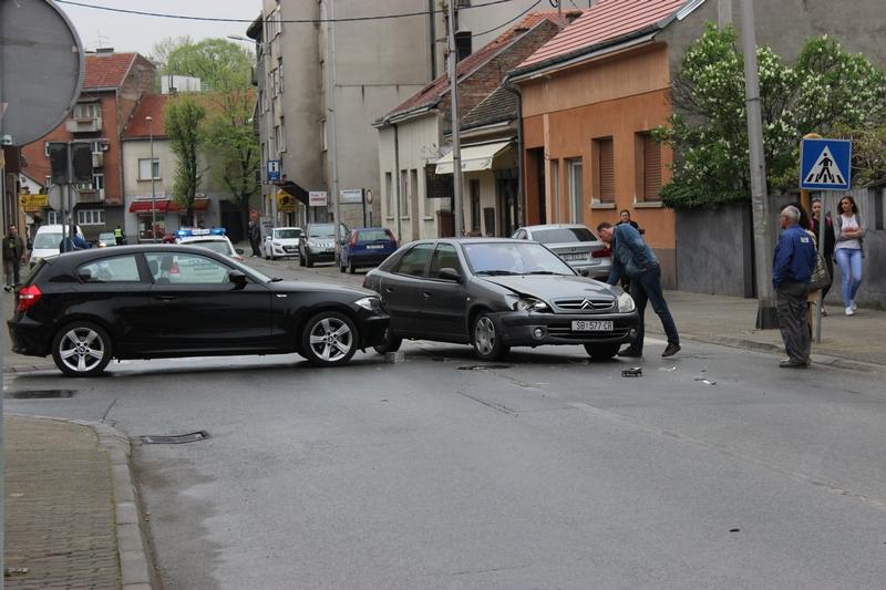 Prometna nesreća na križanju Zrinske i Horvatove ulice