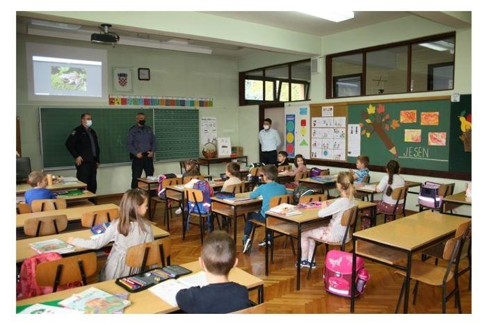 Briga i pažnja policijskih službenika iznimno doprinosi sigurnosti učenika