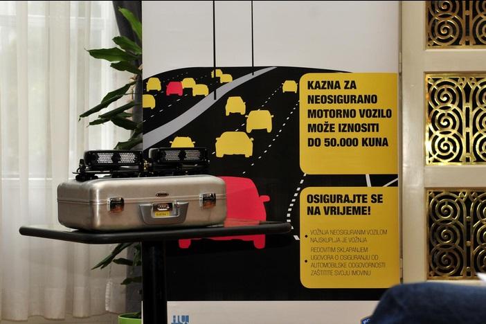 MUP-ov stroj za borbu protiv neosiguranih vozila