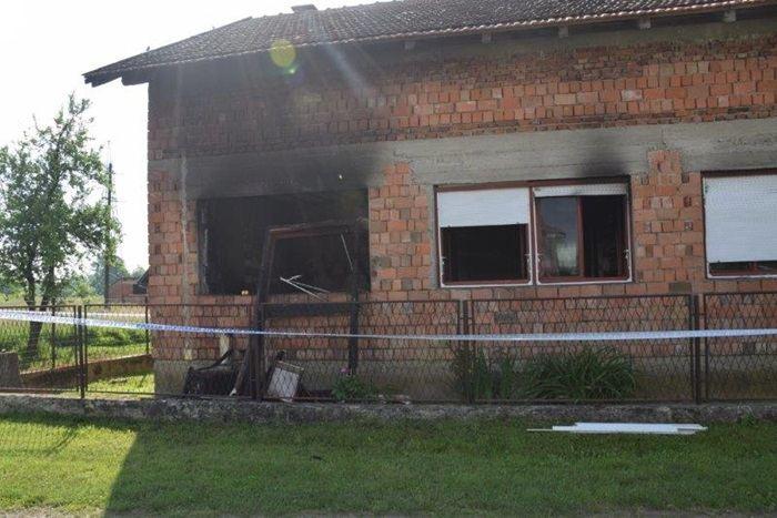 Požar na obiteljskoj kući u Novoj Gradiški