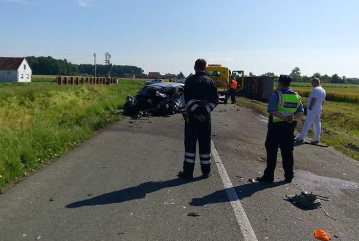 Smrtno stradali vozač skrivio prometnu nesreću u Čajkovcima