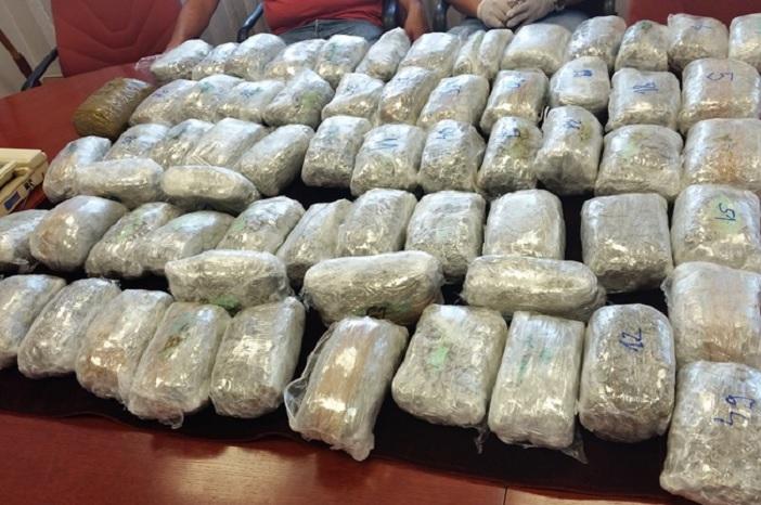Policija zaplijenila 35.53 kg marihuane