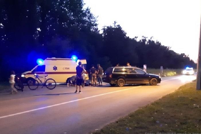 U Splavarskoj ulici ozlijeđen motociklist