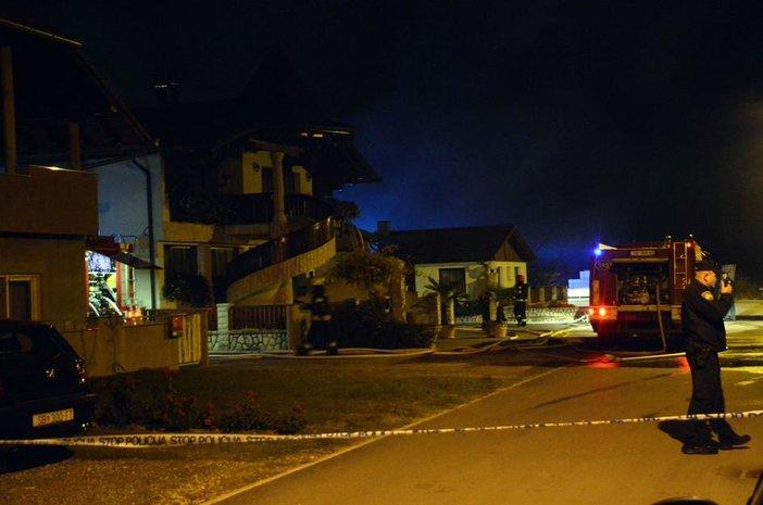 Sinoć buknuo požar u Plitvičkoj ulici
