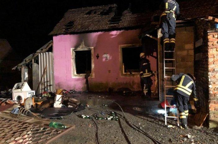 Izgorjela obiteljska kuća