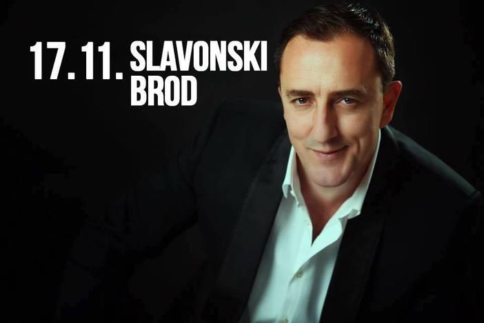 Sergej Ćetković u Slavonskom Brodu!