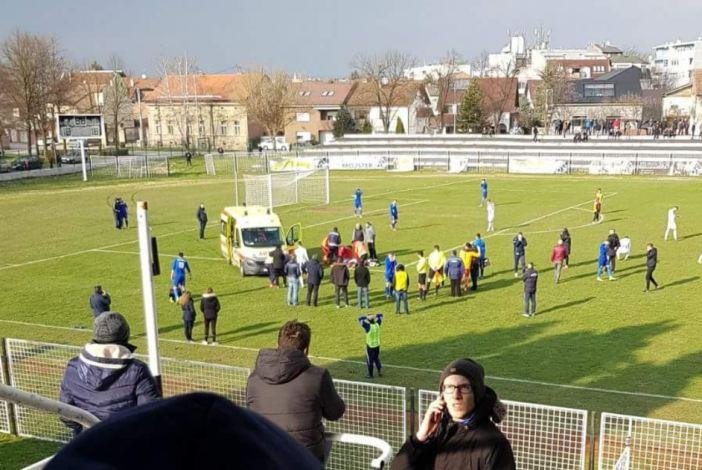 Tijekom utakmice preminuo Bruno Boban (26) nogometaš Marsonije
