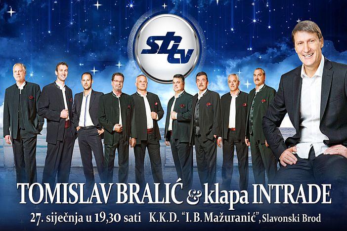 Tomislav Bralić i klapa Intrade zvijezde darovnog koncerta SBTV-a