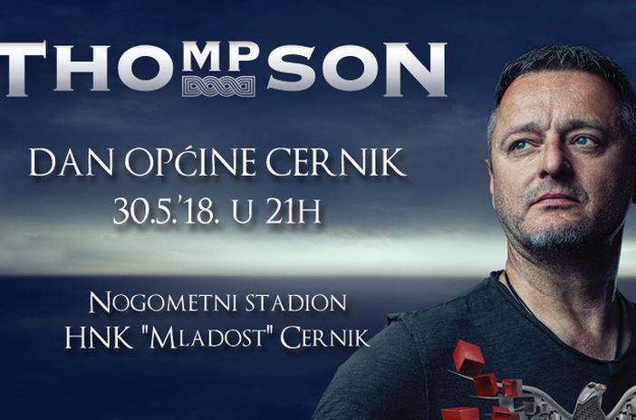 Marko Perković Thompson dolazi u Cernik