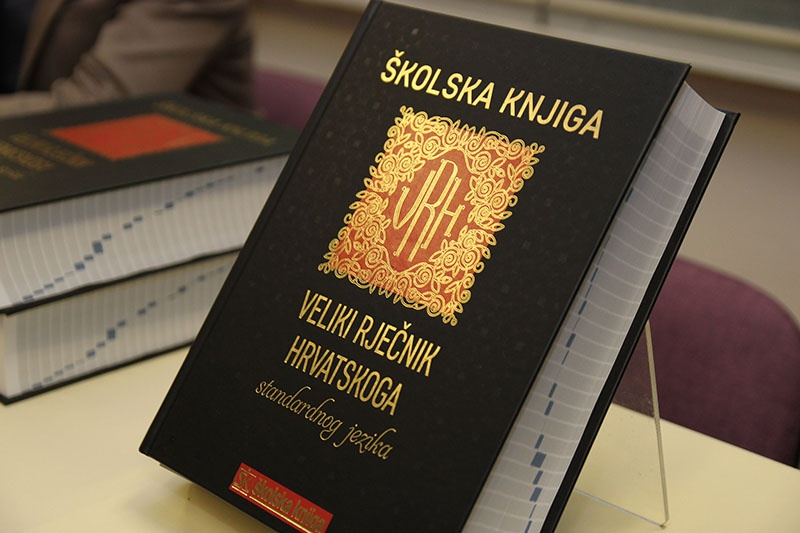 Predstavljen 'Veliki rječnik hrvatskoga standardnoga jezika'
