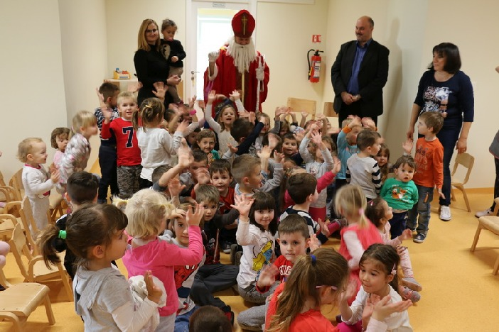 Grad je i ove godine darivao polaznike dječjih vrtića povodom blagdana sv. Nikole