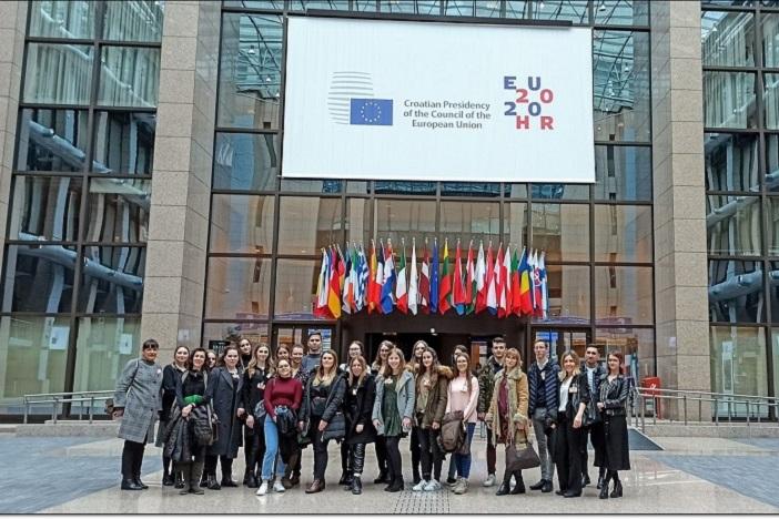 Predstavnici EDIC Hrvatska i EDIC SB na nagradnom putovanju u Bruxellesu