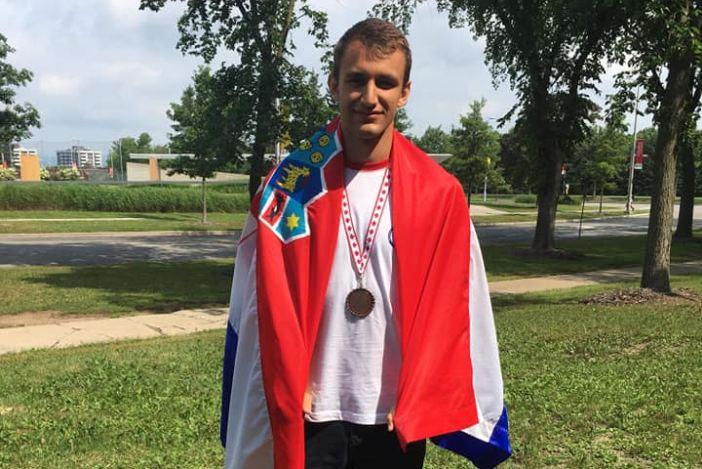 Mihovil Penavić osvojio 3.mjesto na Geografskoj olimpijadi u Kanadi...