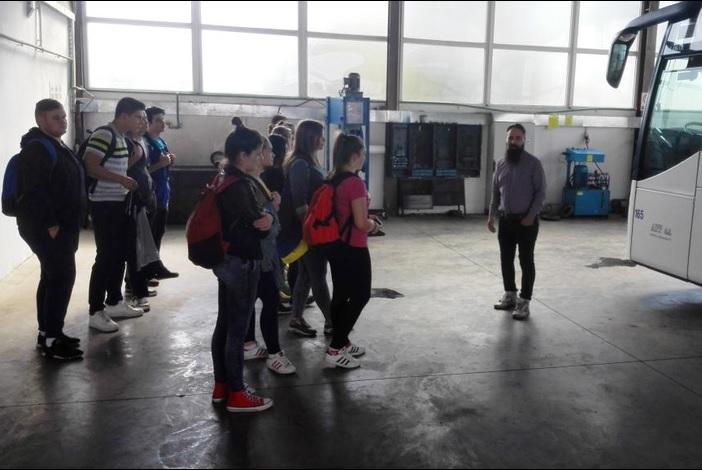 Stručni posjet učenika Tehničke škole Servisnom centru APP-a